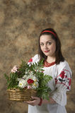 Aantrekkelijk meisjesportret Stock Foto