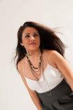 Aantrekkelijk Spaans Meisje Stock Foto