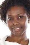 Aantrekkelijke Afrikaanse vrouw Stock Afbeelding