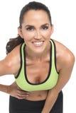 Aantrekkelijke atletische vrouw Stock Afbeeldingen
