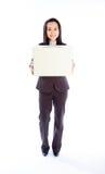 Aantrekkelijke Aziatische die meisjesjaren '30 op witte achtergrond worden geïsoleerd Stock Afbeelding