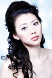 Aantrekkelijke Aziatische vrouw Royalty-vrije Stock Afbeeldingen