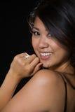 Aantrekkelijke Aziatische vrouw royalty-vrije stock fotografie