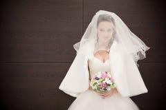 Aantrekkelijke bruid stock afbeelding