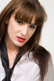Aantrekkelijke brunette Royalty-vrije Stock Foto's