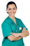 Aantrekkelijke dame arts Stock Afbeelding