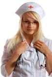 Aantrekkelijke Dame Doctor stock fotografie