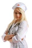 Aantrekkelijke Dame Doctor stock afbeeldingen