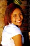 Aantrekkelijke gekleurde vrouw Royalty-vrije Stock Foto