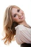 Aantrekkelijke jonge blonde Kaukasische vrouw royalty-vrije stock afbeeldingen