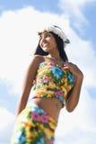 Aantrekkelijke Jonge Hawaiiaanse Vrouw stock afbeeldingen