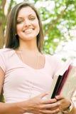 Aantrekkelijke jonge student stock afbeelding
