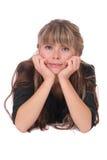 Aantrekkelijke jonge vrouw Stock Fotografie