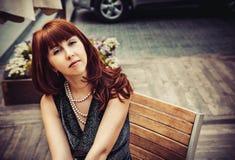 Aantrekkelijke Jonge Vrouw Royalty-vrije Stock Foto