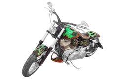 Aantrekkelijke motorfiets royalty-vrije stock fotografie