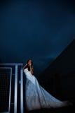 Aantrekkelijke Russische Kaukasische donkerbruine vrouw royalty-vrije stock afbeelding