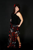 Aantrekkelijke Spaanse danser Stock Fotografie