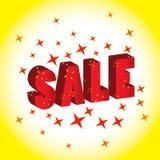 Aantrekkelijke verkoopbanner Royalty-vrije Stock Afbeeldingen