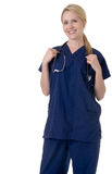 Aantrekkelijke verpleegster Royalty-vrije Stock Afbeeldingen