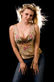 Aantrekkelijke vrouw Stock Afbeeldingen