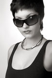 Aantrekkelijke vrouw. Royalty-vrije Stock Foto