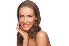 Aantrekkelijke vrouw op middelbare leeftijd Stock Afbeelding