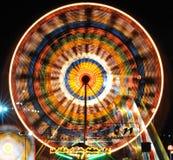Aantrekkelijkheden met nachtlichten Royalty-vrije Stock Fotografie