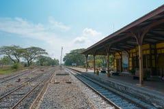 Aantrekkelijkheden Oud Station Stock Afbeelding