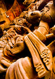 Aantrekkend Pattaya Santuary van waarheid Thailand. stock afbeelding