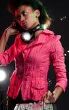 Aantrekkingskracht DJ royalty-vrije stock afbeelding