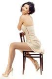 Aantrekkingskracht op een stoel Royalty-vrije Stock Foto's
