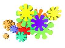 Aanval 1 van de kleur royalty-vrije illustratie