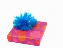 Aanwezig roze en blauw Stock Afbeelding