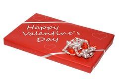 Aanwezige de dag van de valentijnskaart royalty-vrije stock afbeelding