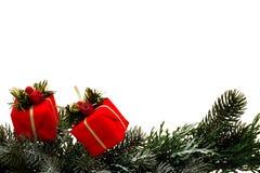 Aanwezige Kerstmis Stock Afbeeldingen