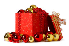 Aanwezige Kerstmis. royalty-vrije stock afbeelding