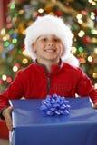 Aanwezige Kerstmis Stock Foto's