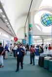 Aanwezigen op de Conferentie 2010 van de Gebruiker ESRI Stock Foto