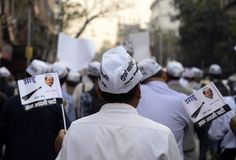 AAP rally Royalty Free Stock Image