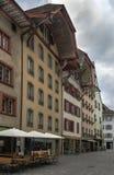 Aarau, die Schweiz Lizenzfreies Stockbild