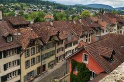 Aarau, die Schweiz Stockfoto