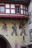 Aarau est une ville, une municipalité, et le capital du canton suisse du nord d'Argovie Image stock