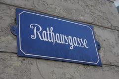Aarau ist eine Stadt, ein Stadtbezirk und das Kapital des Schweizer Nordbezirks von Aargau stockfotos