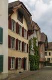 Aarau Schweiz Arkivfoton