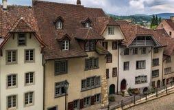 Aarau Schweiz Arkivbild