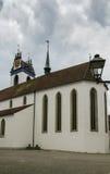 Aarau-Stadtkirche Stockfotos