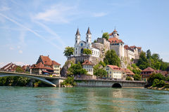 Aarburg castle Royalty Free Stock Photography