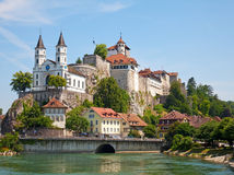 Aarburg castle Royalty Free Stock Photos