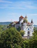 Aarburg castle Royalty Free Stock Images
