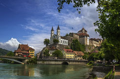 Aarburg Castle Royalty Free Stock Photo